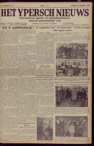 Het Ypersch nieuws (1929-1971) 1968-01-26