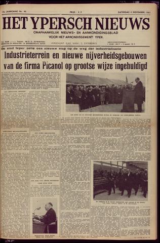 Het Ypersch nieuws (1929-1971) 1961-11-04