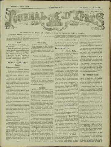 Journal d'Ypres (1874 - 1913) 1899-04-01