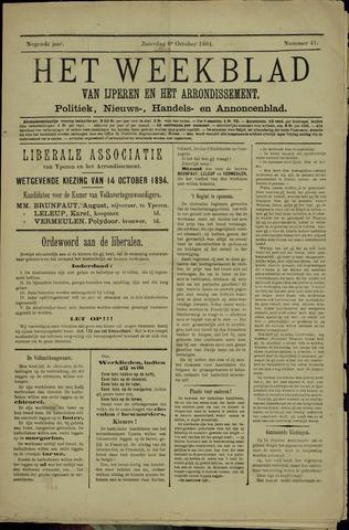 Het weekblad van Ijperen (1886 - 1906) 1894-10-06