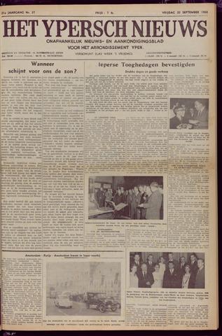Het Ypersch nieuws (1929-1971) 1968-09-20