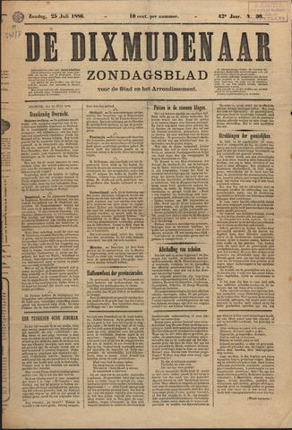 De Dixmudenaar 1886