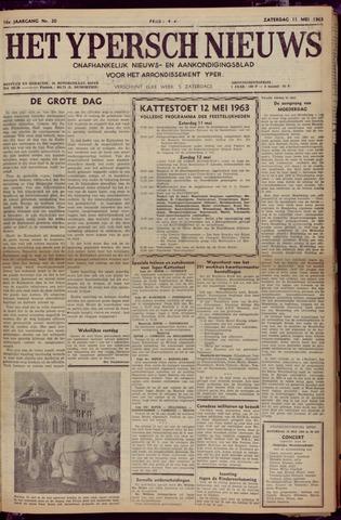Het Ypersch nieuws (1929-1971) 1963-05-11