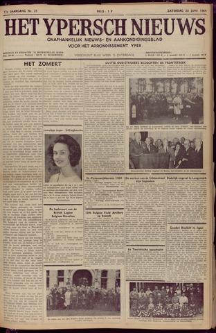 Het Ypersch nieuws (1929-1971) 1964-06-20