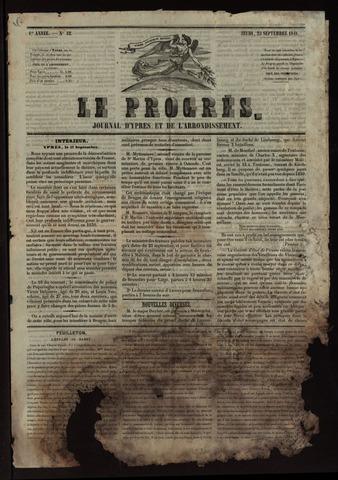 Le Progrès (1841-1914) 1841-09-23