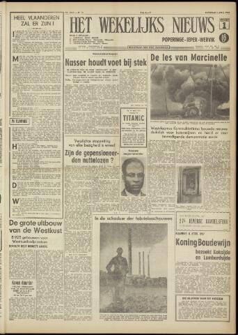 Het Wekelijks Nieuws (1946-1990) 1957-04-06