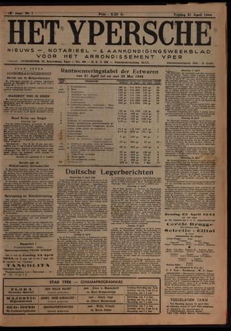 Het Ypersch nieuws (1929-1971) 1944-04-21