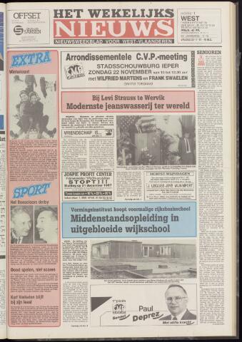 Het Wekelijks Nieuws (1946-1990) 1987-11-20