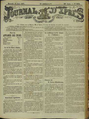 Journal d'Ypres (1874 - 1913) 1897-06-16