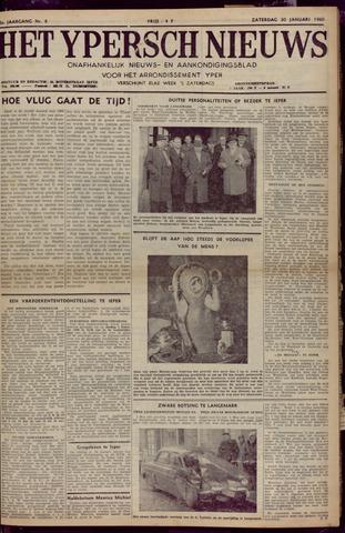 Het Ypersch nieuws (1929-1971) 1960-01-30