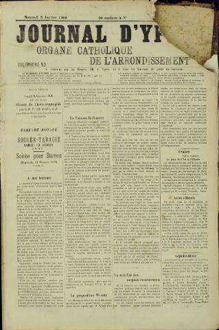 Journal d'Ypres (1874 - 1913) 1906-01-03
