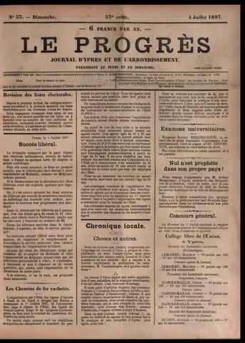 Le Progrès (1841-1914) 1897-07-04