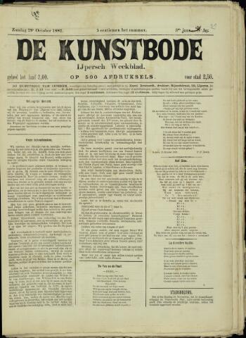 De Kunstbode (1880 - 1883) 1882-10-29