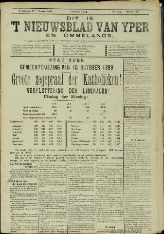 Nieuwsblad van Yperen en van het Arrondissement (1872 - 1912) 1899-10-21
