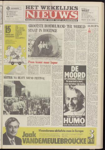 Het Wekelijks Nieuws (1946-1990) 1984-06-15