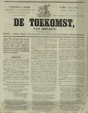De Toekomst (1862 - 1894) 1867-04-07