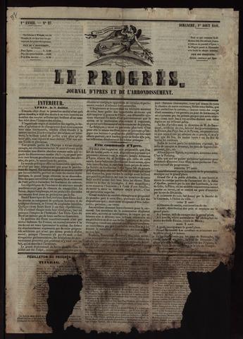 Le Progrès (1841-1914) 1841-08-01
