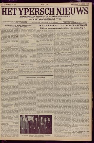 Het Ypersch nieuws (1929-1971) 1965-04-10