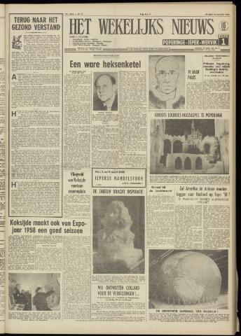 Het Wekelijks Nieuws (1946-1990) 1958-03-14