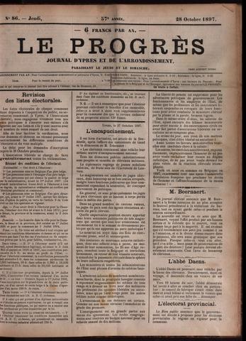Le Progrès (1841-1914) 1897-10-28
