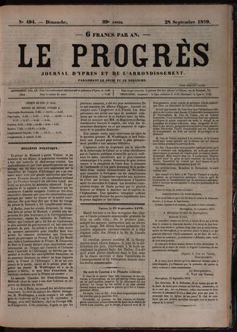 Le Progrès (1841-1914) 1879-09-28