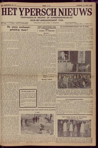 Het Ypersch nieuws (1929-1971) 1967-07-14