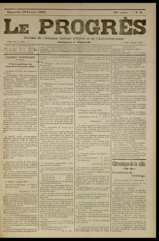 Le Progrès (1841-1914) 1905-02-19