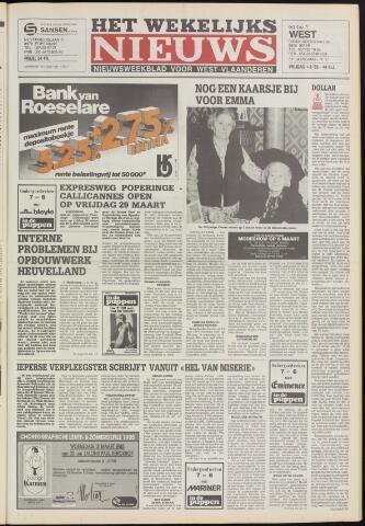 Het Wekelijks Nieuws (1946-1990) 1985-03-01
