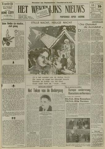 Het Wekelijks Nieuws (1946-1990) 1953-12-26