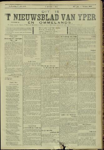 Nieuwsblad van Yperen en van het Arrondissement (1872 - 1912) 1905-07-01