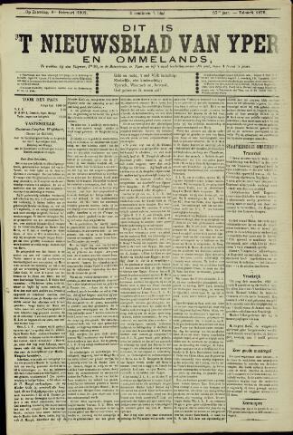 Nieuwsblad van Yperen en van het Arrondissement (1872 - 1912) 1902-02-08