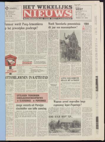 Het Wekelijks Nieuws (1946-1990) 1984