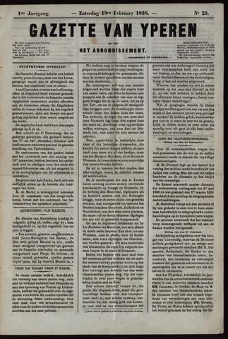 Gazette van Yperen (1857-1862) 1858-02-13