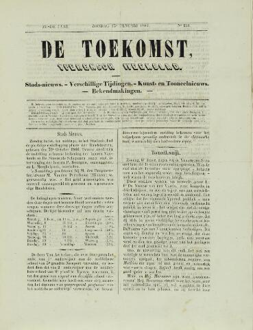 De Toekomst (1862 - 1894) 1867-01-13