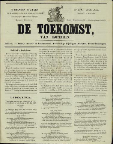 De Toekomst (1862 - 1894) 1867-07-21