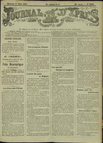 Journal d'Ypres (1874 - 1913) 1897-03-17