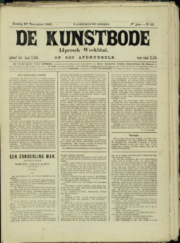 De Kunstbode (1880 - 1883) 1882-11-19