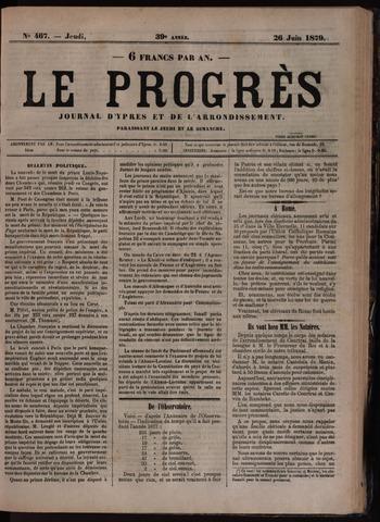 Le Progrès (1841-1914) 1879-06-26