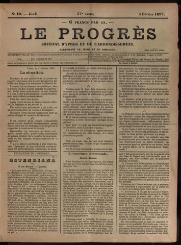 Le Progrès (1841-1914) 1897-02-04