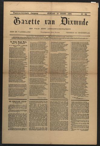 Gazette van Dixmude 1899-08-13