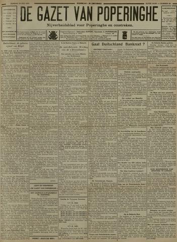 De Gazet van Poperinghe  (1921-1940) 1931-07-19