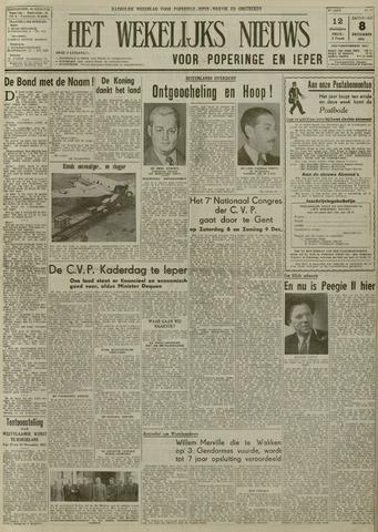 Het Wekelijks Nieuws (1946-1990) 1951-12-08