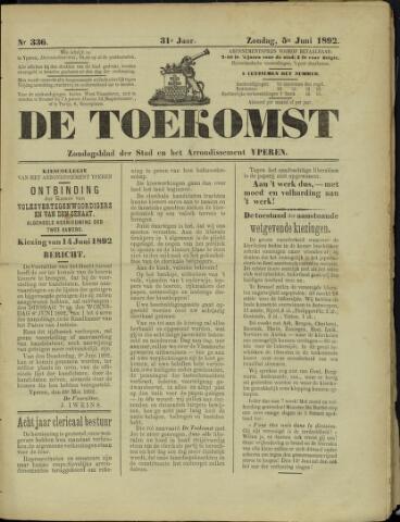 De Toekomst (1862 - 1894) 1892-06-05