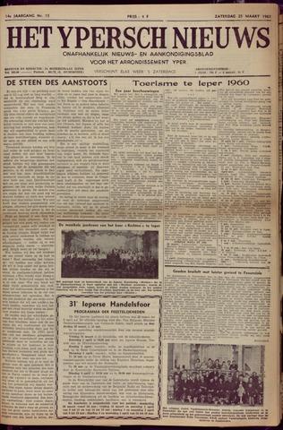 Het Ypersch nieuws (1929-1971) 1961-03-25
