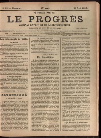Le Progrès (1841-1914) 1897-04-11