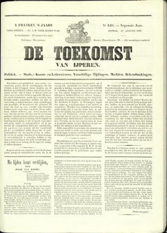 De Toekomst (1862 - 1894) 1870-08-14