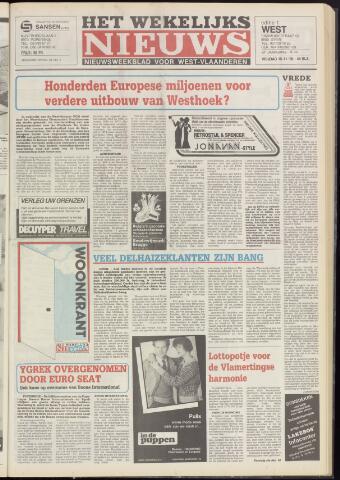 Het Wekelijks Nieuws (1946-1990) 1985-11-15