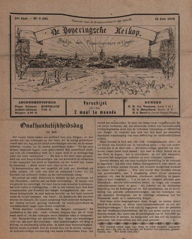 De Poperingsche Keikop (1917-1919) 1918-07-01