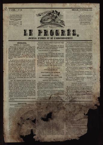 Le Progrès (1841-1914) 1841-09-12