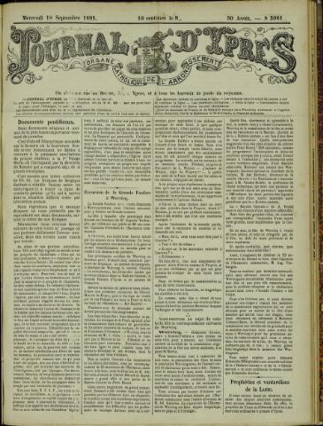 Journal d'Ypres (1874 - 1913) 1895-09-18